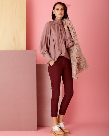 LILA Fashion | Burgundy Pant