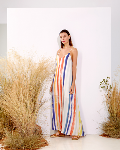 LILA Fashion | Multicolor Maxi Dress