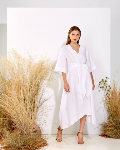 LILA Fashion | White Kaftan