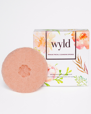 LILA Fashion | Konjac Sponge | French Pink Clay