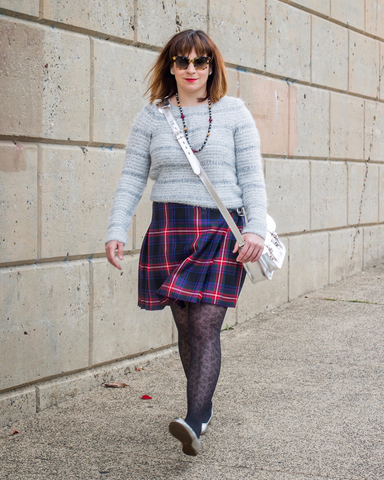 LILA Fashion | Braveheart Warrior Mini Kilt
