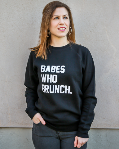 LILA Fashion | Babes Who Brunch | Sweatshirt