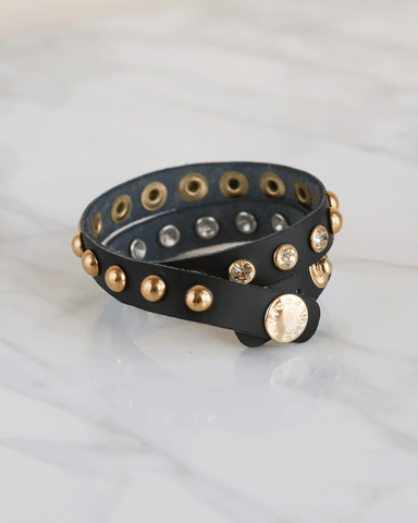 LILA Fashion | Metal & Strass Bracelet