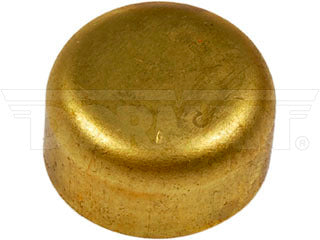 565-128 Brass Cup Expansion Plug 2-1/2 In., Height 0.320 In.