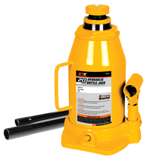 W1633 20 Ton Hydraulic Bottle Jack