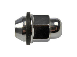 611-208 Wheel Nut M12-1.50 Acorn - 21mm Hex, 38.35mm Length  Application Summary: Hyundai Elantra 1995-92, Hyundai Sonata 1998-94