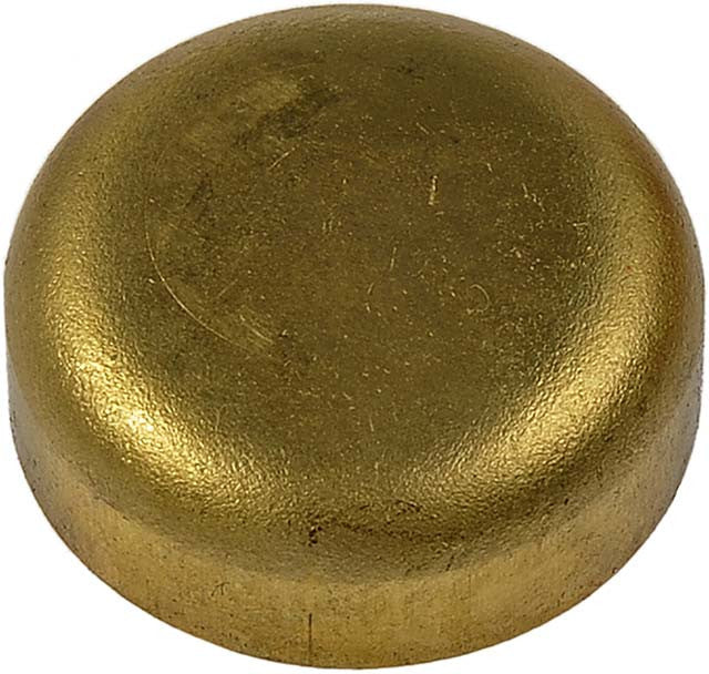565-014 Brass Cup Expansion Plug 7/8 In., Height 0.331