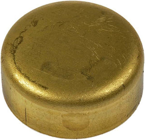 565-019 Brass Cup Expansion Plug 1-1/8 In., Height 0.505