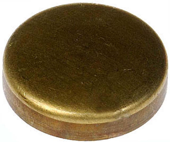 565-025 Brass Cup Expansion Plug 1-3/8 In., Height 0.310