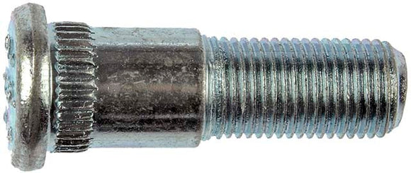 610-256 1/2-20 Serrated Wheel Stud - .630 In. Knurl, 1-3/4 In. American Motors 1988-80, Jeep 1989-84