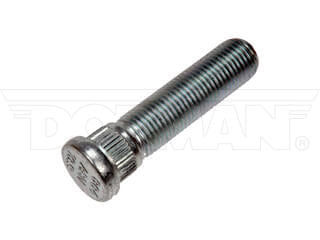 610-004 / M14-1.50 Serrated Wheel Stud - 16mm Knurl, 59.77mm Length Application Summary: Ford 2018-15, Lincoln 2017-10