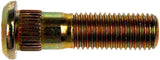 610-507 M12-1.50 Serrated Wheel Stud - 13.0mm Knurl, 44.8mm Length (HYUNDAI, KIA, MAZDA)