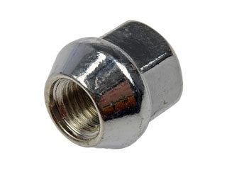 611-183 Wheel Nut M12-1.50 Open Bulge Seat - 19mm Hex, 21.4mm Length