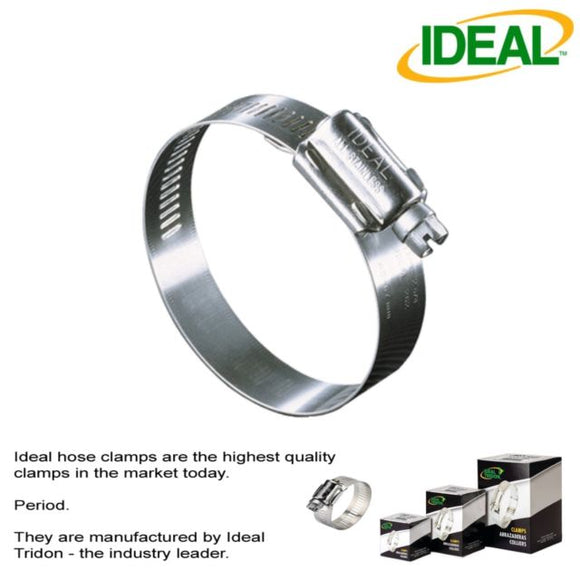 5232 Ideal Clamp Made in Usa Size 1 1/2-2 1/2