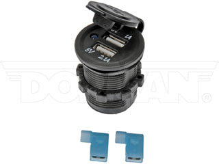 84622 12V DC Accessory Socket Dual USB 5V 1A/2.1A