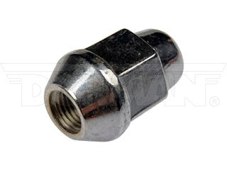 611-082 Wheel Nut 7/16-20 Acorn - Bulge Seat - 13/16 In. Hex, 1.384 In. Length  Application Summary: Buick 1985-62, Cadillac 1976, Chevrolet 1991-46