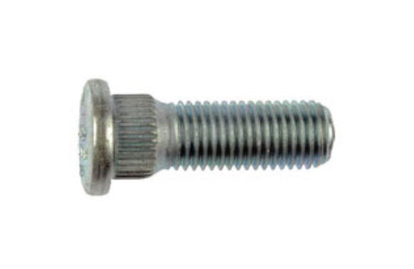 610-262 M12-1.50 Serrated Wheel Stud - 14.35mm Knurl, 37.5mm Length (MITSUBISHI & ISUZU