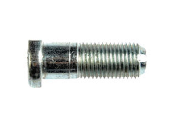 610-398 M12-1.25 Non-Serrated Wheel Stud With Clip Head - 12.09mm Knurl, 34mm Length (SUZUKI)