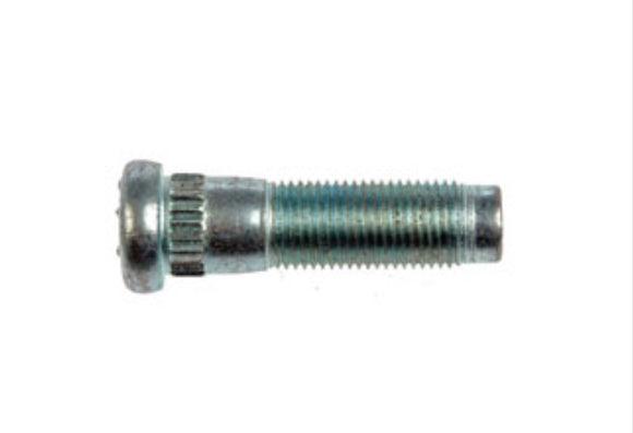 610-345 1/2-20 Serrated Wheel Stud - .570 In. Knurl, 1-7/8 In. Length (DODGE, FORD, MAZDA)