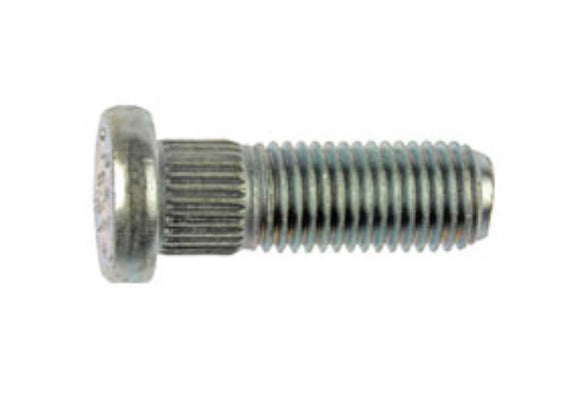 610-269 M12-1.50 Serrated Wheel Stud - 12.22mm Knurl, 36mm Length (HONDA & ACURA)
