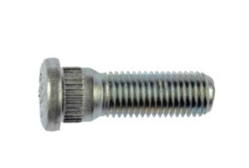 610-266 M12-1.50 Serrated Wheel Stud - 14.20mm Knurl, 40mm Length (TOYOTA & GM)