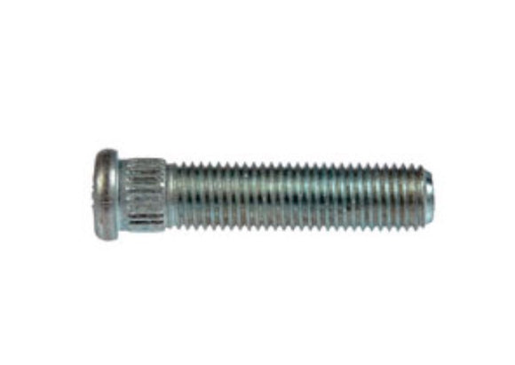 610-323 XXL M12-1.50 Serrated Wheel Stud - 12.80mm Knurl, 54mm Length (HUMMER)