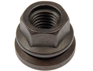 611-196 Wheel Nut M14-2.0 Flanged Flat Face - 21mm Hex, 22.6mm Length (FORD)