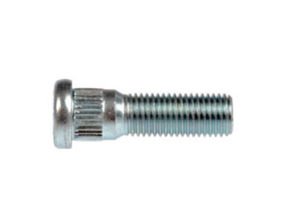 610-312 XXL M12-1.50 Serrated Wheel Stud - 14.17mm Knurl, 44.5mm Length(CHRYSLER, ISUZU, MITSUBISHI & TOYOTA)