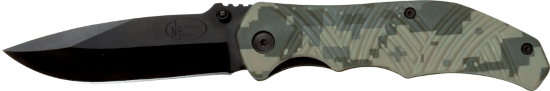 W9339  Tactical Camo Folding Knife
