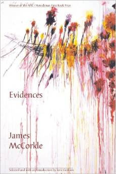 APR/Honickman First Book Prize - 2003 Winner: Evidences by James McCorkle (Out of Stock)