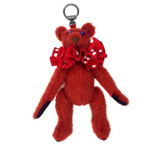 "Teddy Bear Bag Charm - ""Bridget Beardot"""