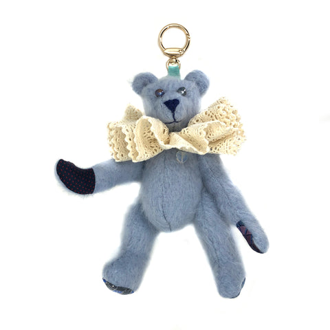 "Teddy Bear Bag Charm - ""Bearbow Baggins"""