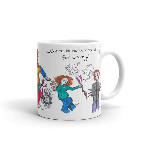 """Bridget's Downfall"" Mug"