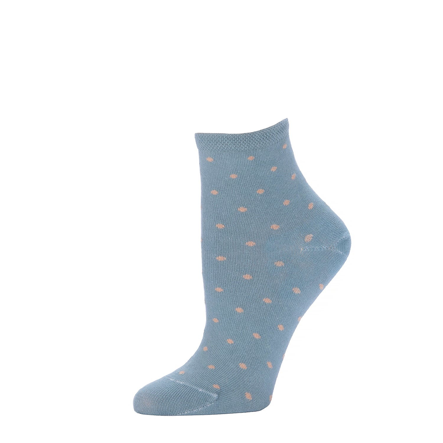 Polka Dot Ankle- Moonstone