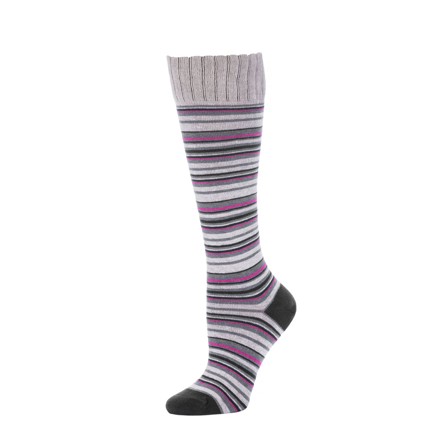 Multi Stripe Knee High- Vapor