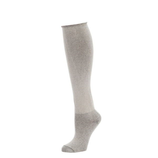 Melange Over the Knee Legwear- Oatmeal