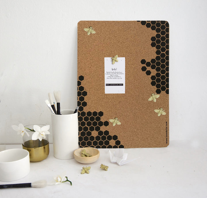 Bee pin boards