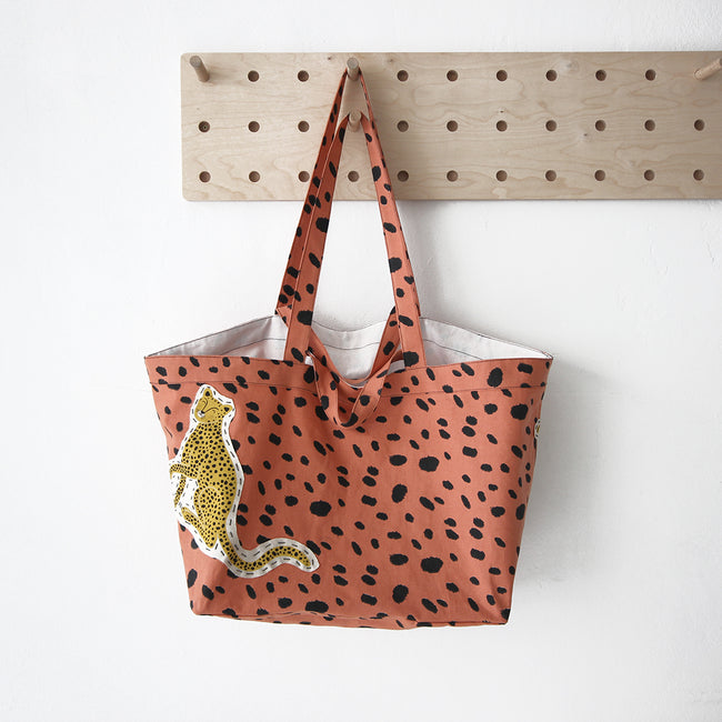 Wild Cat Big Bag .Terracotta