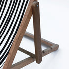 Deck chair . Stripe