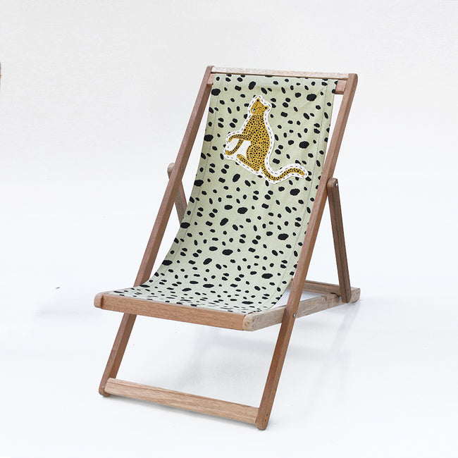 Wildcat Deck chair . Veld Green