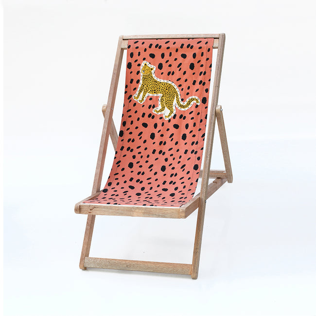 Wildcat Deck chair . Terracotta