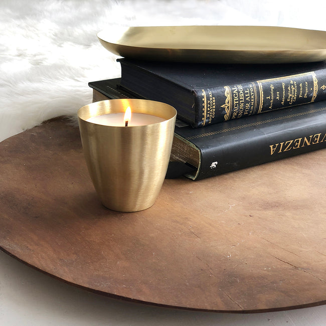 Brass Soya Candle