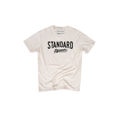 Classic Standard Lifewear tee with a mountain range on the back