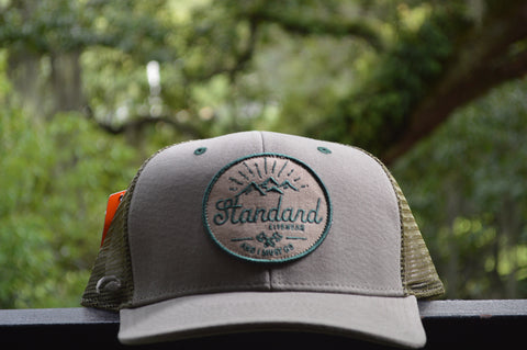 Standard Mountains Hat -Forest Green, Hat, Standard Lifewear, Standard Lifewear Standard Lifewear