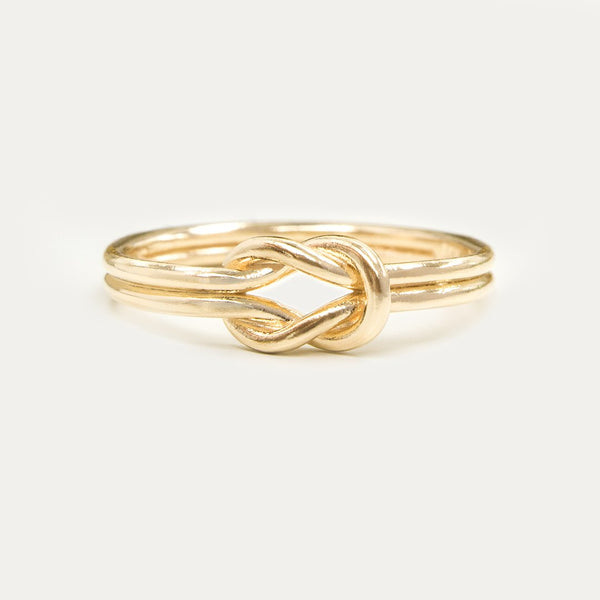 Choosing the Right Band to Match your Double Knotted Ring