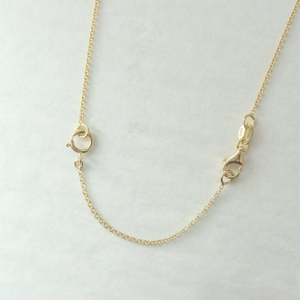 14k Solid Gold Chain Extender