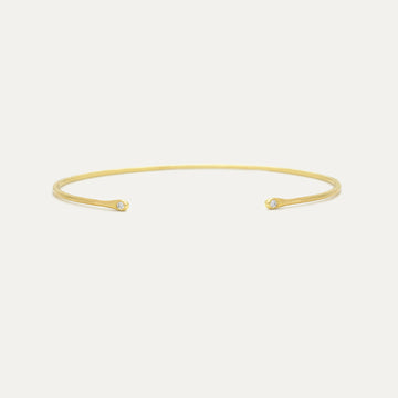 Galina Bangle Bracelet - A Gilded Leaf jewelry