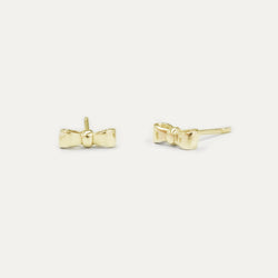 Bow Stud Earrings Earrings - A Gilded Leaf jewelry
