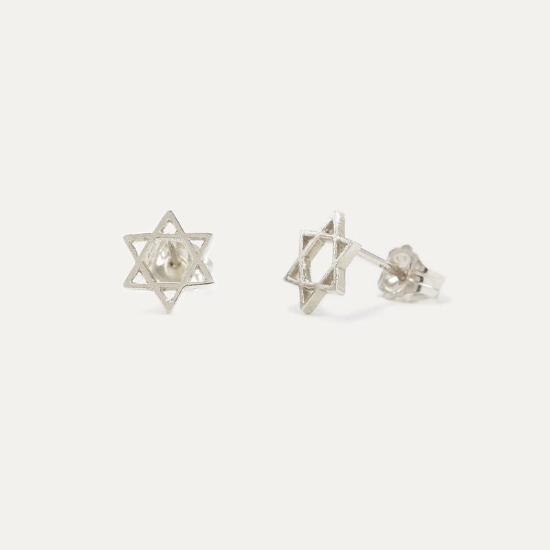 Star of David Mini Studs
