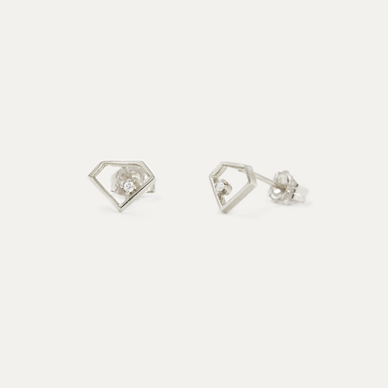 "The Diamond ""Inception"" Earrings"